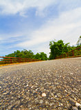 Paved road.