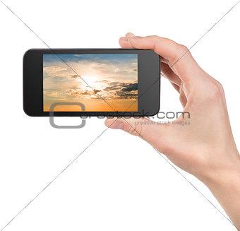 Sky in a phone