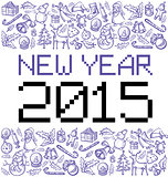 Vector pixel numbers 2015