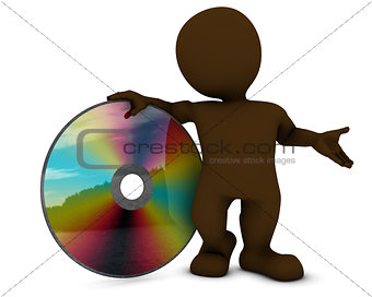 3D Morph Man with DVD disk