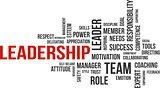 word cloud - leadership