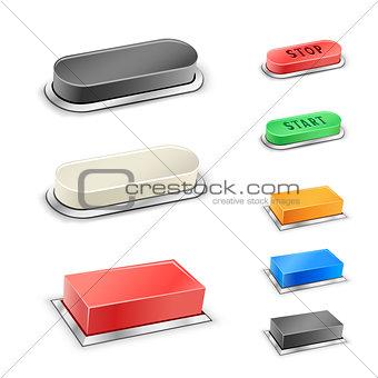 3D mega buttons