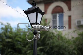 Camera outdoor surveillance