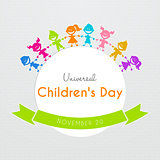 Universal Children day poster