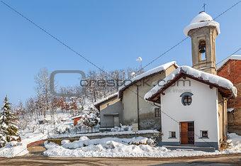 Small rural chapel.