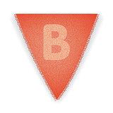 Bunting flag letter B