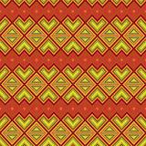 Seamless ethnic motif pattern
