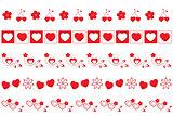 valentines borders set 2