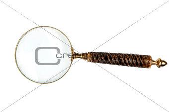 Antique magnifier.