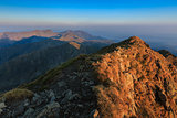 The Negoiu Peak. Fagaras Mountains, Romania
