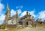 The parish of Guimiliau, Brittany, France.