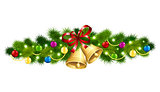 Christmas fir garland