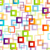Background with colorful squares