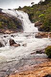 Baker's Falls. A waterfall in Sri Lanka