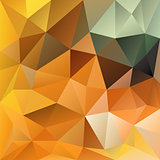 vector polygonal background autumn