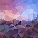 vector polygonal background violet