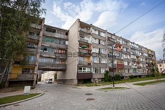 Old Soviet Block apartments