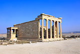 Erechtheum from Athenian Acropolis, Greece