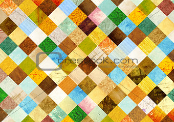 Background with paper patterns