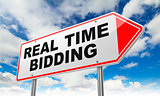Real Time Bidding on Red Road Sign.