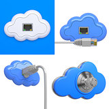 Cloud Computing Concepts - 3D Set.