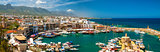 KYRENIA, CYPRUS - APRIL, 26 2014: Harbor in Kyrenia.