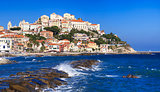 the beautiful Ligurian town of Porto Maurizio,Imperia, Italy
