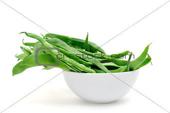 green bean pods