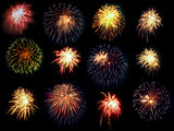 Fireworks group.