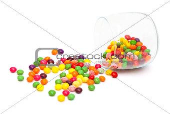 Candy in a glass jar