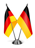 Germany - Miniature Flags.