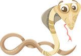 cobra animal cartoon illustration