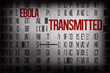 Digitally generated ebola word cluster