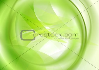 Abstract iridescent smooth wavy background