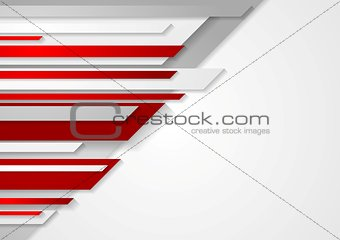 Abstract vector technology stripes design