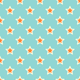 Retro Texture with Stars