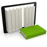 Green book out of tablet