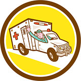 Ambulance Emergency Vehicle Cartoon