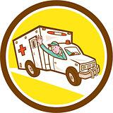 Ambulance Emergency Vehicle Cartoon
