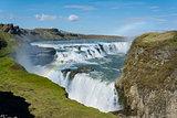 Gullfoss Waterfalls Iceland