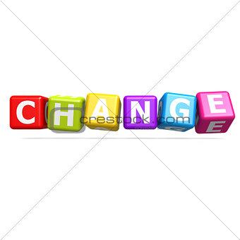 Cube puzzle change