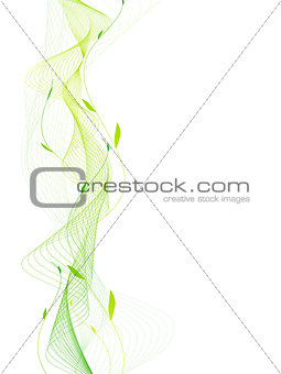 Abstract Nature Frame
