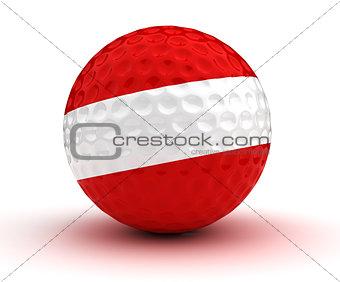 Austrian Golf Ball