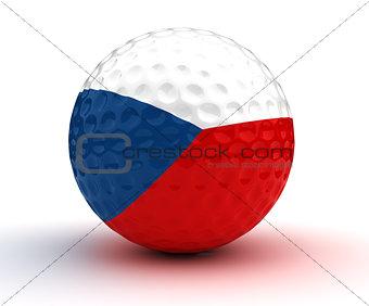 Czech Golf Ball