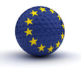 European Golf Ball