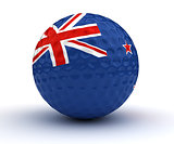 New Zealand Golf Ball