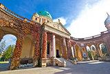 Monumental arcades of Mirogoy cemetary