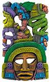 Mayan Clay Mask - Mexico