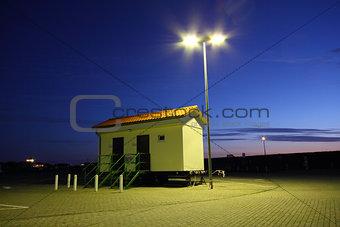trailer public restroom