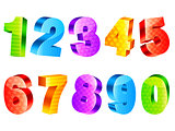 Colorful numbers.